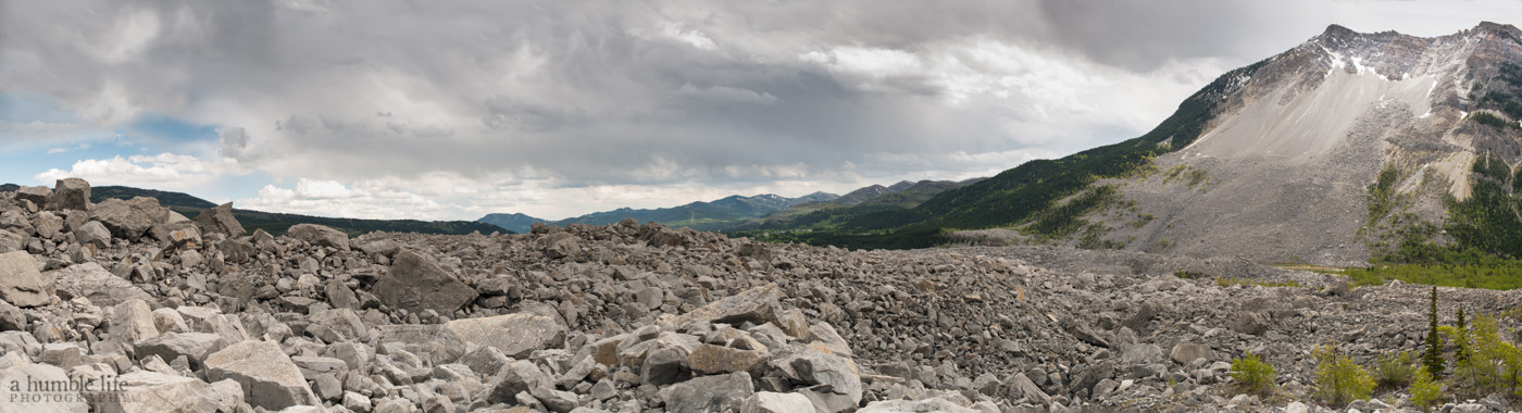 Frank Slide, Crowsnest Pass
