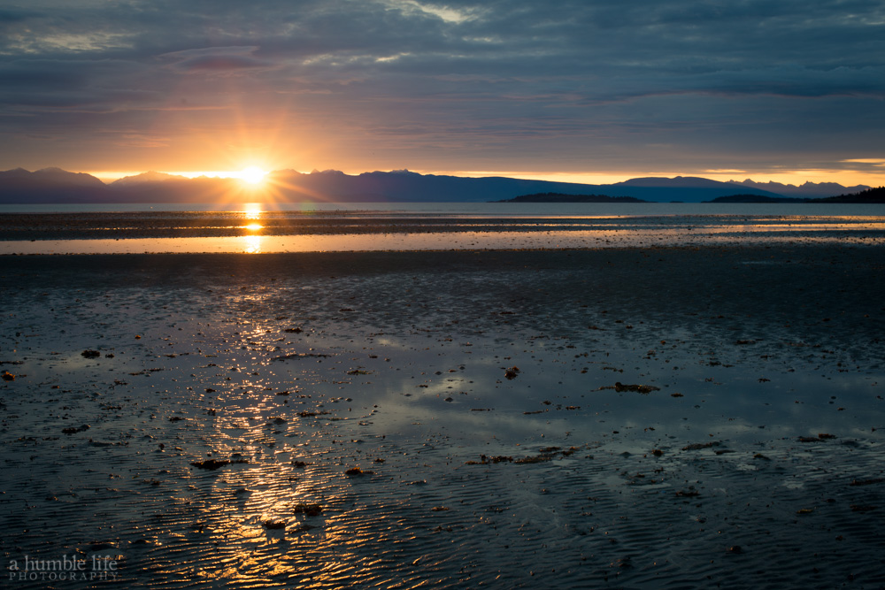 Rathtrevor Beach Sunrise