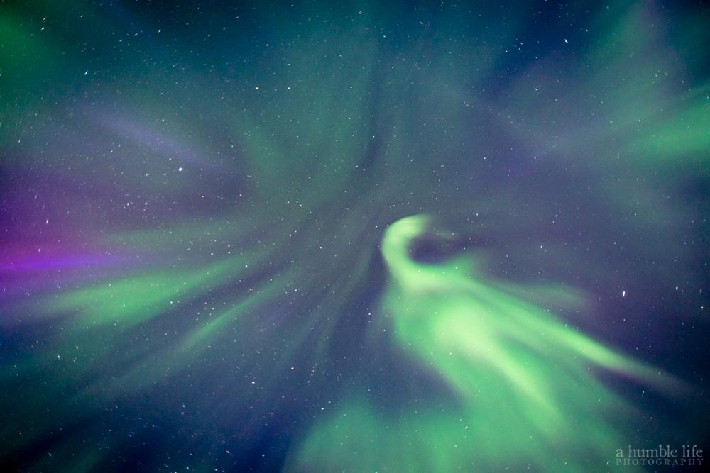 Aurora Borealis Abstract